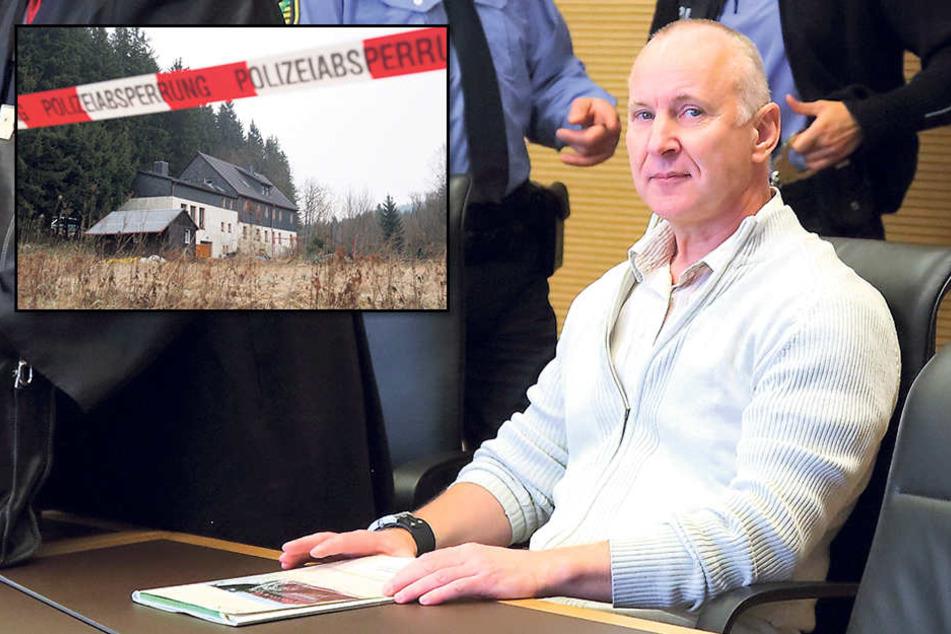 Zum zweiten Mal sitzt der mutmaßliche Mörder Detlev G. (58) auf der Anklagebank.