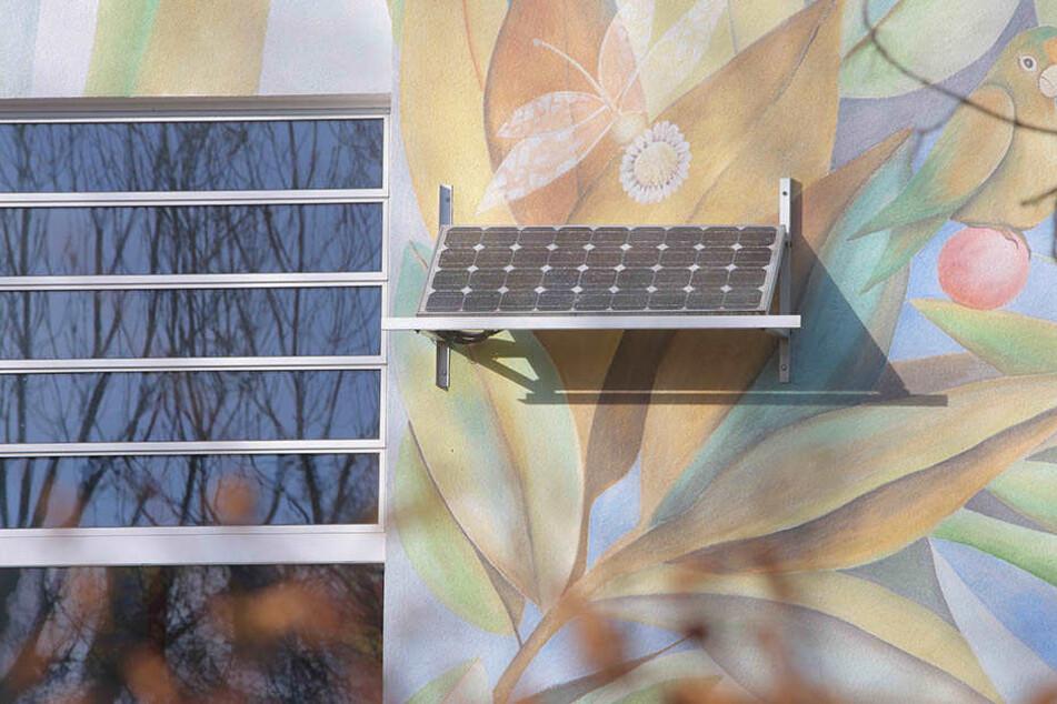 Noch sind Solaranlagen an und auf städtischen Gebäuden eine Seltenheit.