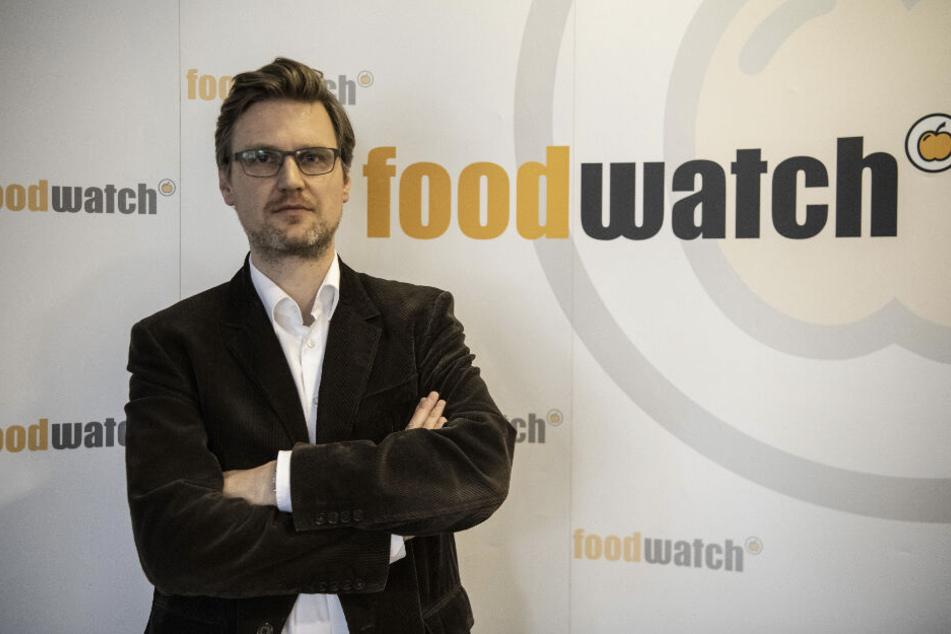 Martin Rücker, Geschäftsführer von foodwatch Deutschland.