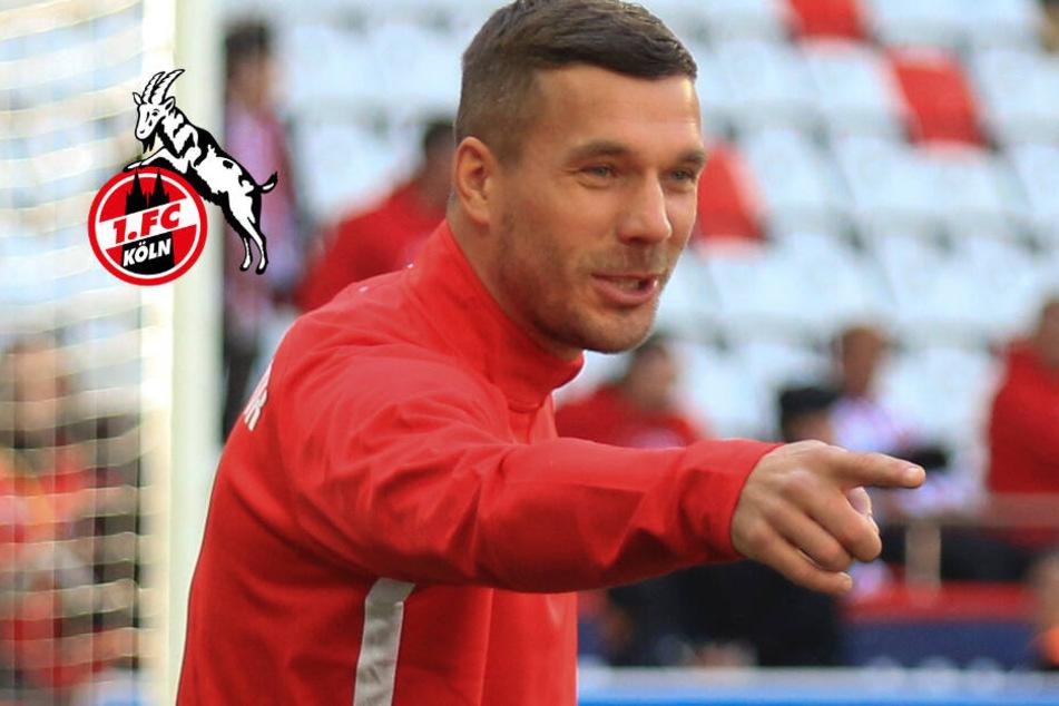 1. FC Köln gegen FC Bayern: Lukas Podolski zeigt offensiven Weg auf!