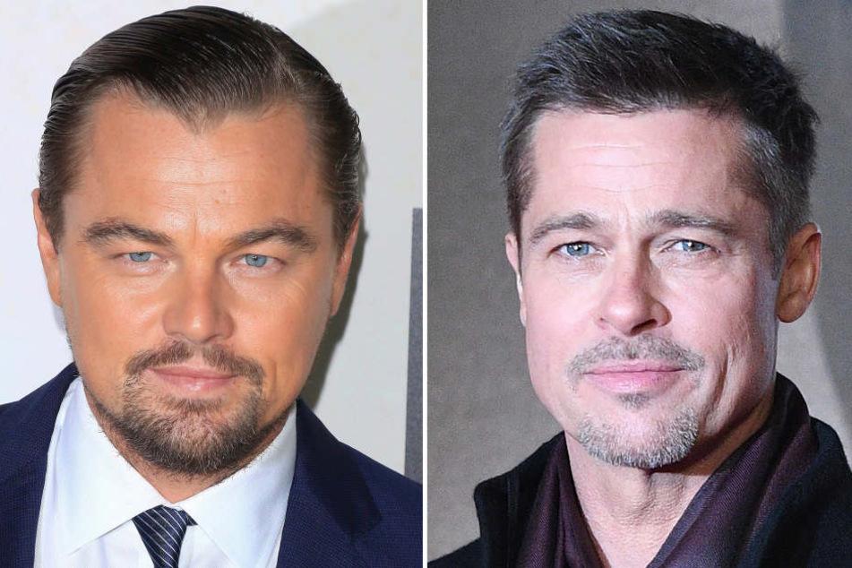 Leonardo DiCaprio und Brad Pitt sind beim neuen Tarantino-Streifen dabei.