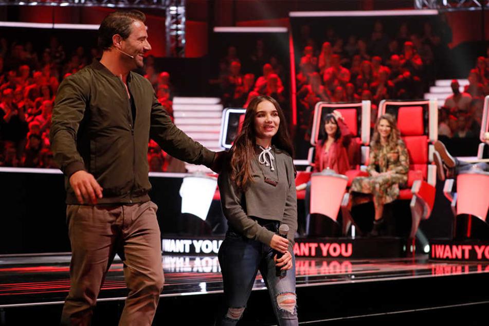 """Geschafft! Evgenia überzeugt bei """"The Voice Kids"""""""