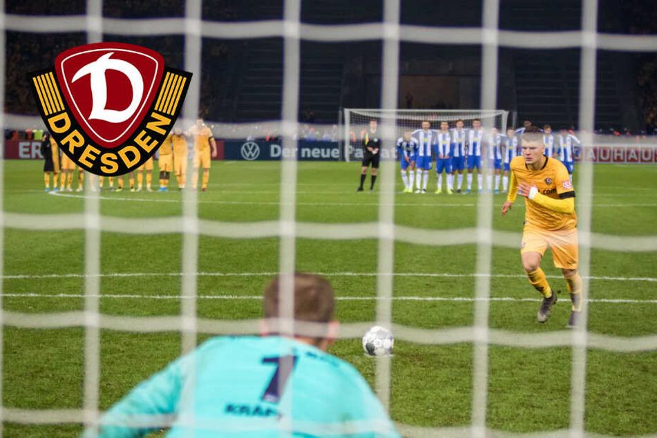 Dynamo-Trainer Fiel huldigt Pechvogel Kevin Ehlers
