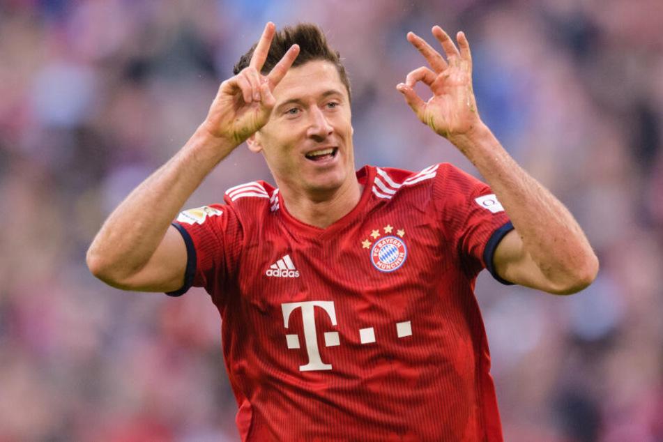 Robert Lewandwoski hält den Bayern-Kader für überlegen.