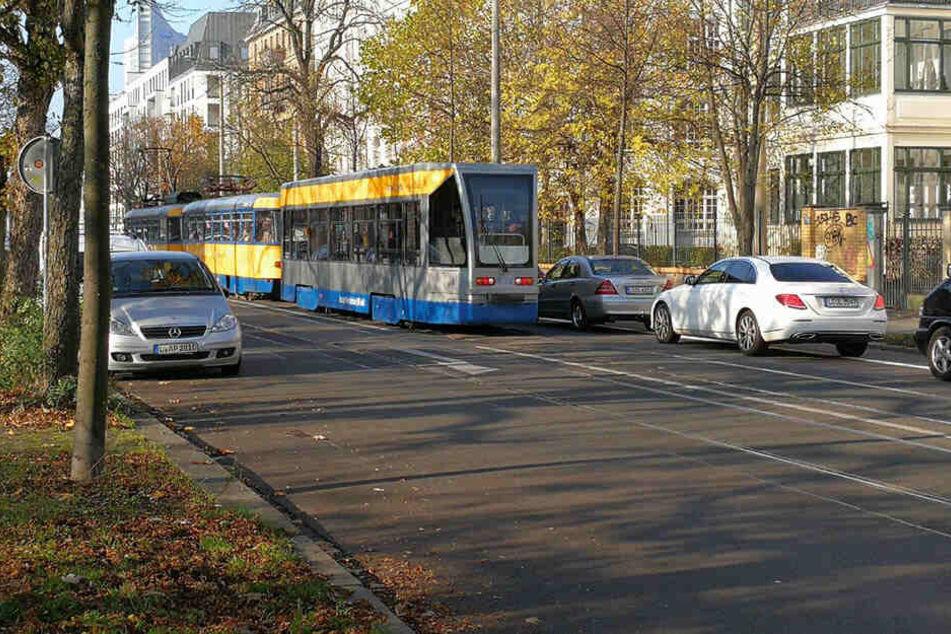 In der Dresdner Straße wird ab Montag, den 29. April, an den Gleisen gearbeitet.