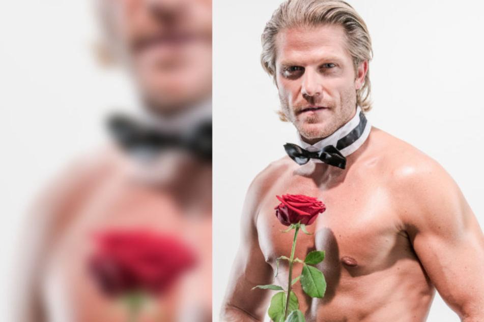 Ex-Bachelor Paul Janke verteilt seine Rosen jetzt auch von der Chippendales-Bühne aus.