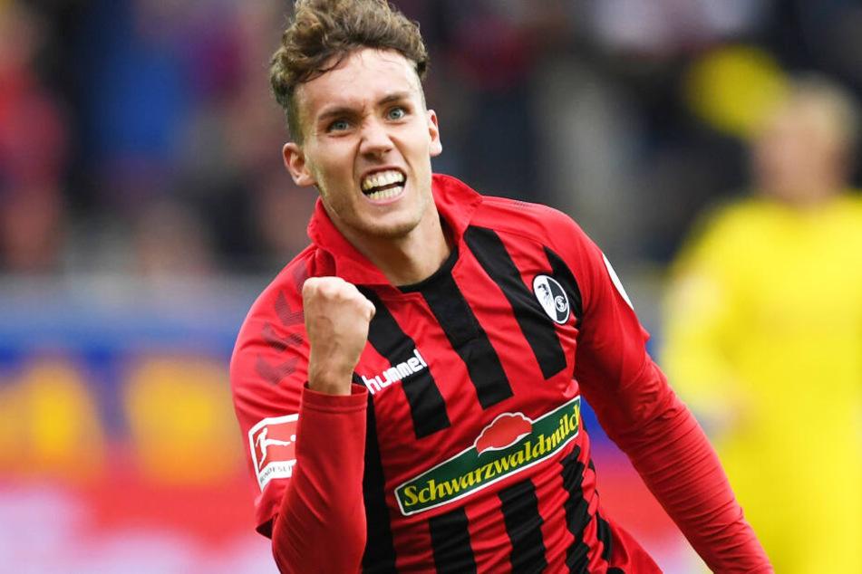 Luca Waldschmidt vom SC Freiburg kann sich eine Zukunft beim FC Bayern München vorstellen.