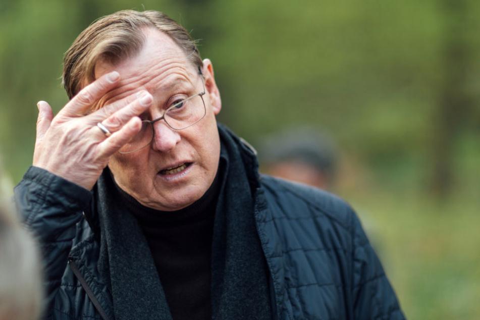 Als besorgniserregend wertet Thüringens Ministerpräsident Bodo Ramelow (Linke) die Liste mit möglichen Anschlagzielen des rechtsextremen Bundeswehr-Offiziers.