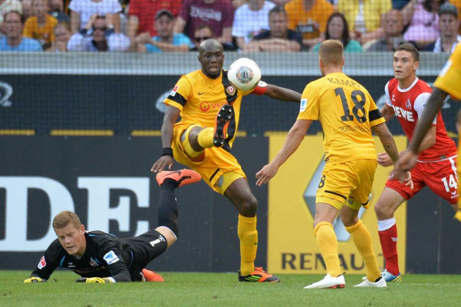 Mickaël Poté schoss in seiner Zeit bei Dynamo 21 Tore in der zweiten Liga und ist damit immer noch erfolgreichster Zweitliga-Torschütze aller Zeiten bei den Schwarz-Gelben.