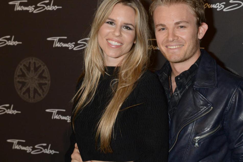 Im Glück: Nico Rosberg und seine Frau Vivian freuen sich über den Nachwuchs.