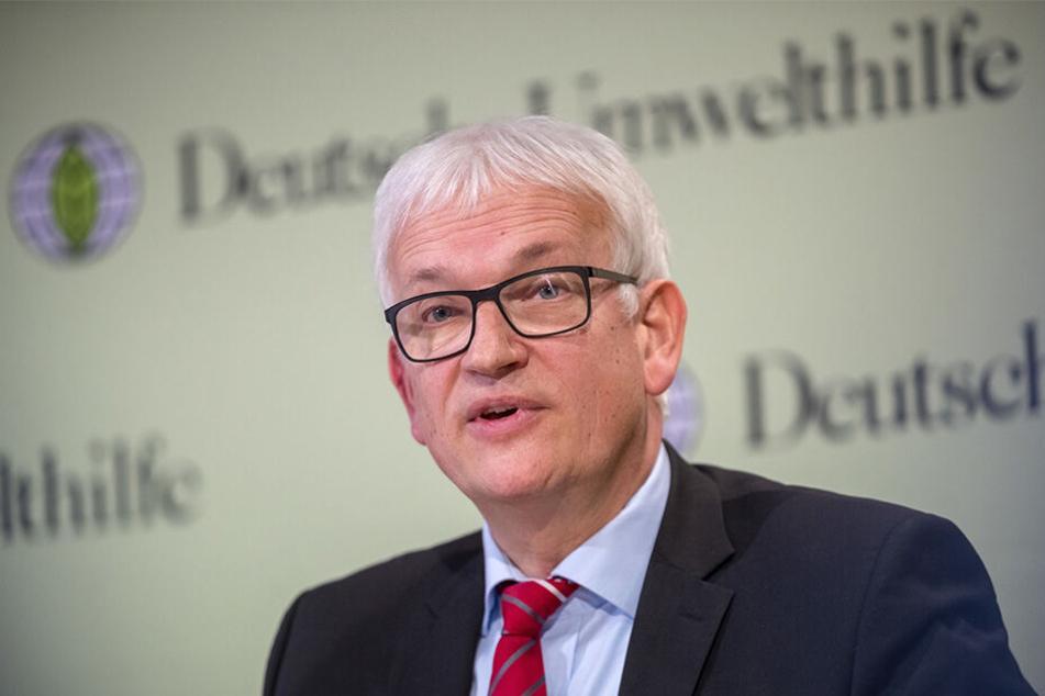 Nach dem Diesel sagt die Deutsche Umwelthilfe mit Geschäftsführer Jürgen Resch (59) nun Feuerwerken den Kampf an.