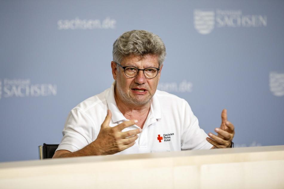 DRK-Sachsen-Chef Rüdiger Unger (60).