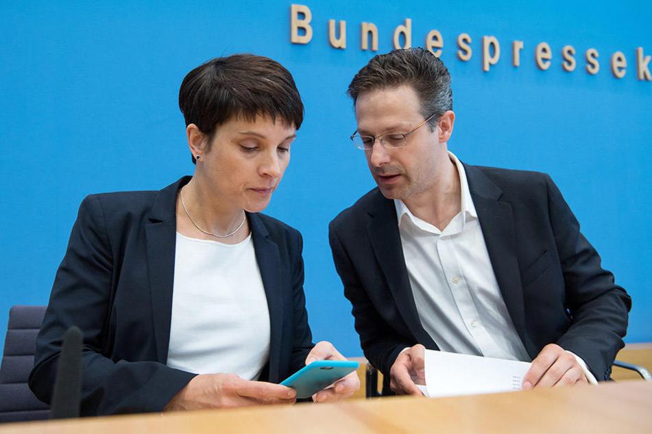 Sowohl Frauke Petry als auch ihr Ehemann Marcus Pretzell wollen die AfD verlassen.
