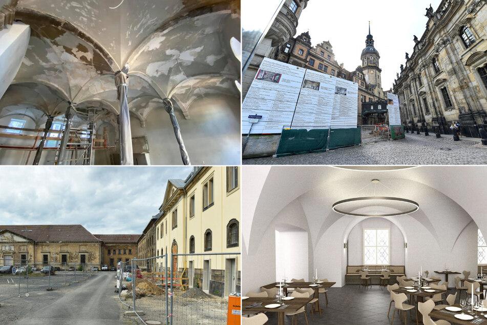 Das Dresdner Schloss kriegt eine Kneipe und andere Edelbaustellen in der City