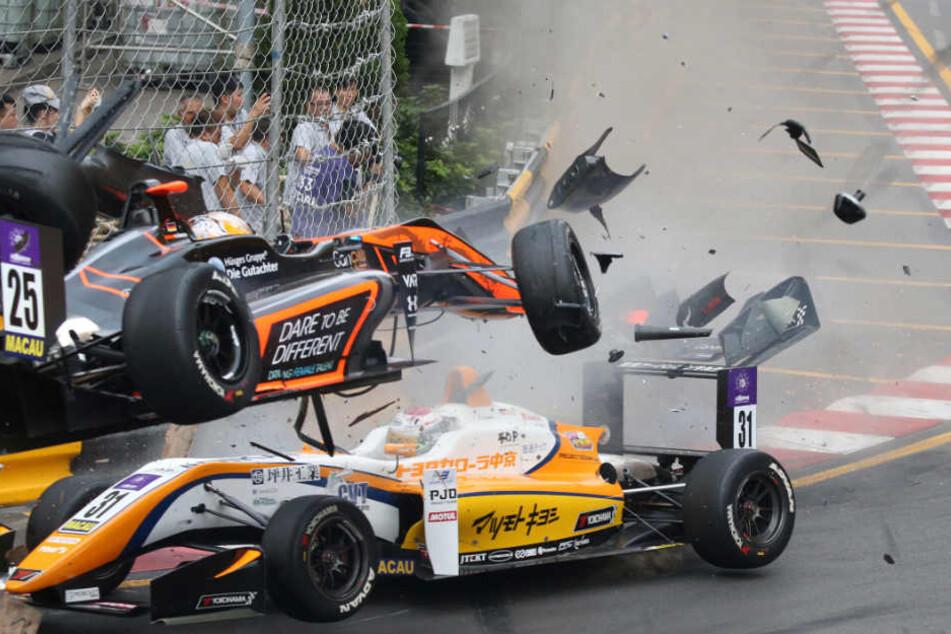 Der Unfall wird nun von der FIA untersucht.