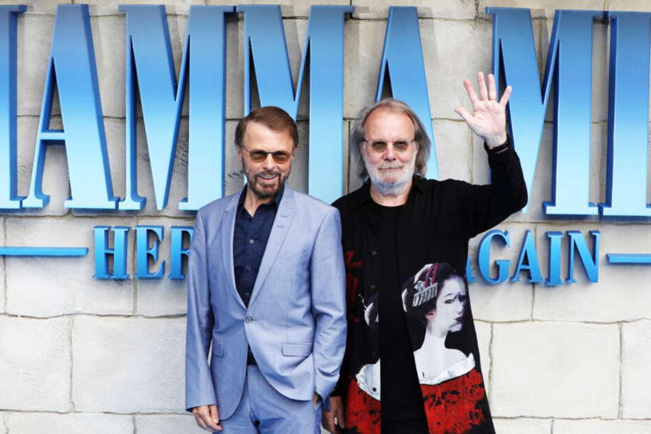 Die beiden ehemaligen ABBA-Bandmitglieder Björn Ulvaeus (l.) und Benny Andersson.