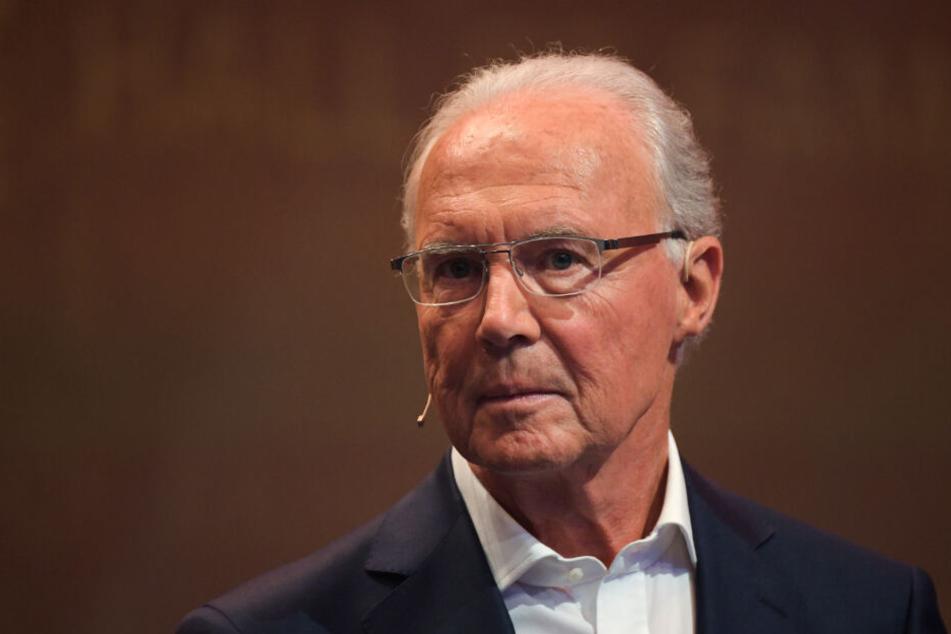 Franz Beckenbauer hat einen Sehsturz erlitten.