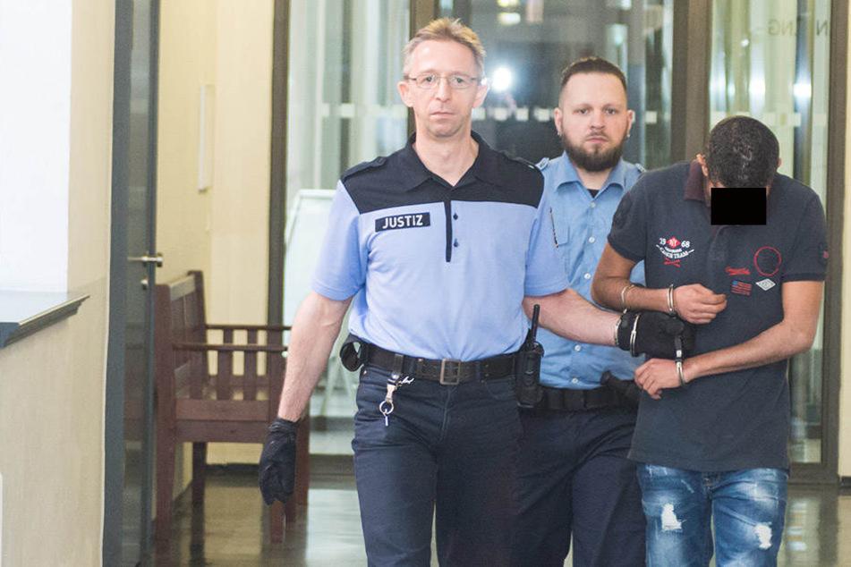 Charfeddine S. (29) wurde am Landgericht Dresden verurteilt.