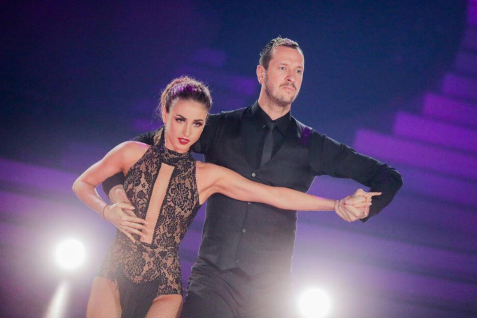 Das Paar überzeugte mit ihren Tänzen.