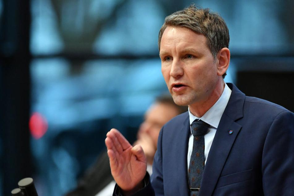 Björn Höcke (AfD) äußerte Kritik an den Haushaltsplänen von Rot-Rot-Grün.