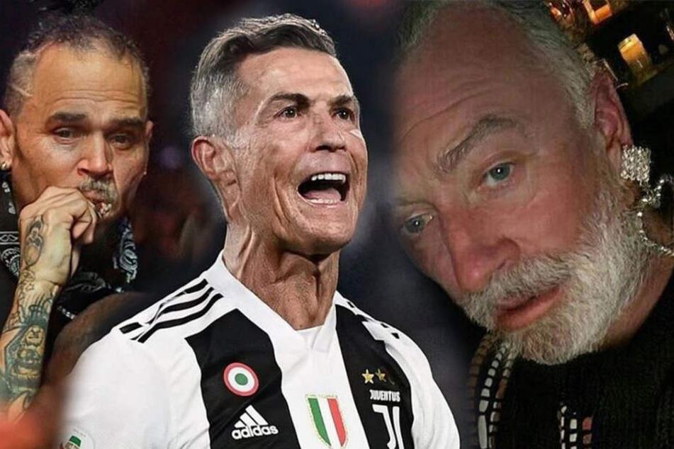 Ronaldo, Sam Smith und Chris Brown ganz schrumplig: Was ist denn mit diesen Stars passiert?