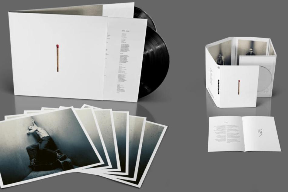 Die Vinyl- und Special Edition des neuen Rammstein Albums. (Bildcollage)