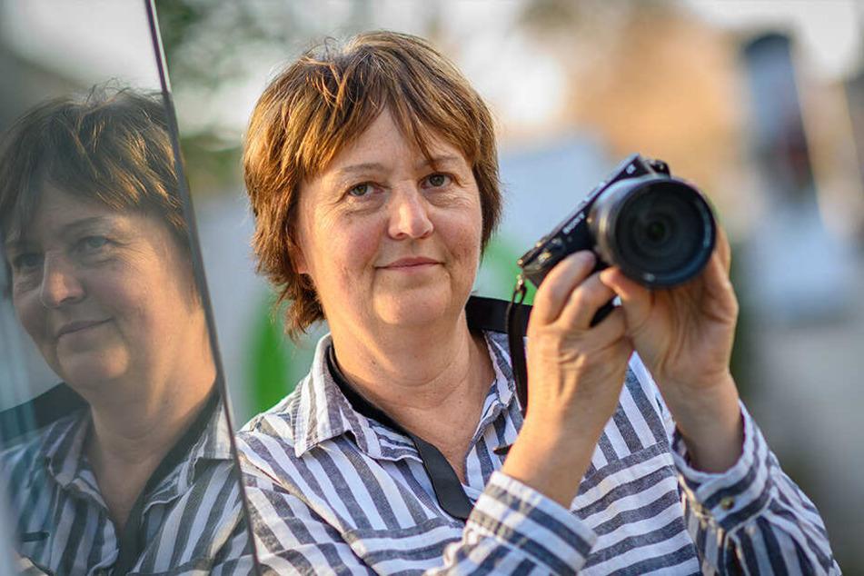 Hobby-Fotografin Viola Schwarz (58) bekam das seltene Tier mit viel Glück vor die Linse.