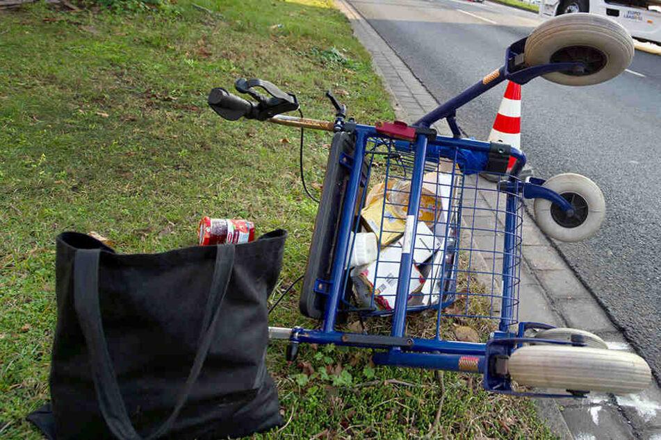 Rentnerin stirbt nach Rollator-Unfall