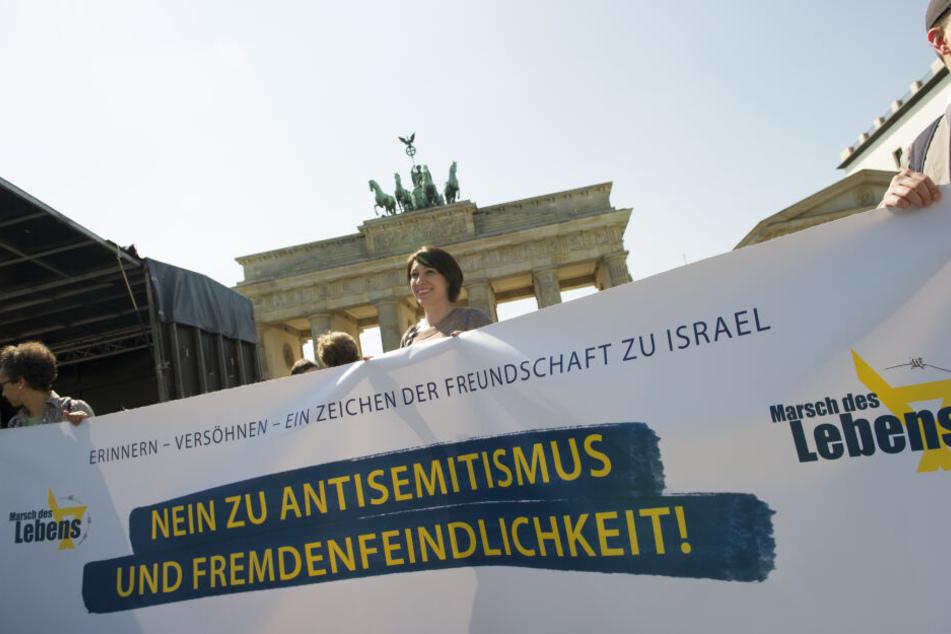 """2016 wurde der """"Marsch des Lebens"""" bereits in Berlin veranstaltet."""