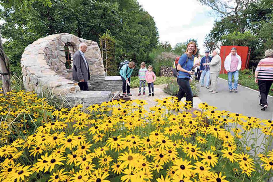 Zwickau ist einer von vier Bewerbern für die Landesgartenausstellung 2022.  Die bislang letzte fand in Oelsnitz statt.