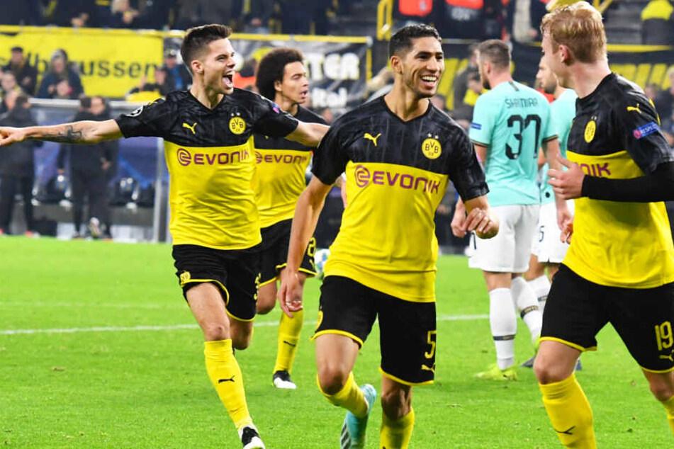 Sensationelles Comeback! Der BVB drehte in der zweiten Halbzeit das Spiel und gewann mit 3:2 gegen Inter.