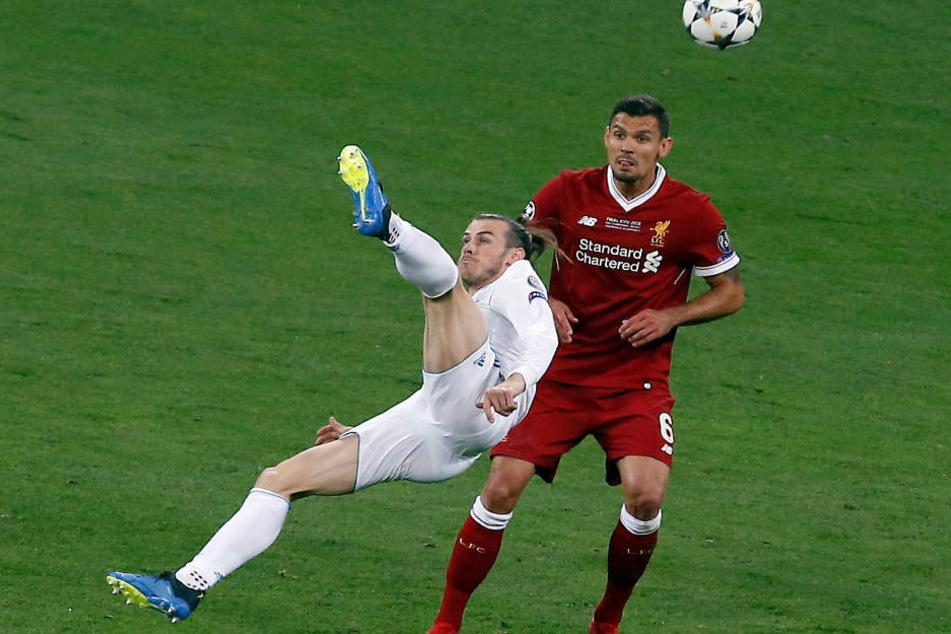 Mit seinem Fallrückzieher sorgte Gareth Bale für das Highlight des Endspiels.