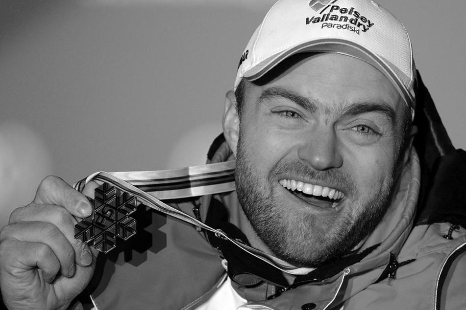 Skirennfahrer David Poisson starb nach einem Sturz im Training. Er wurde nur nur 35 Jahre alt.