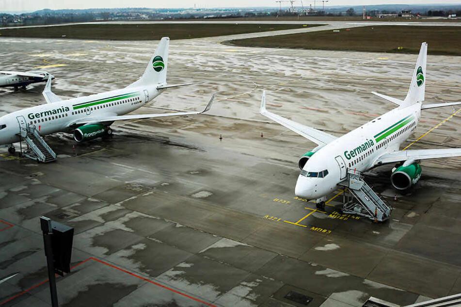 Nach Insolvenz: Was passiert jetzt mit den gestrandeten Germania-Jets in Dresden?