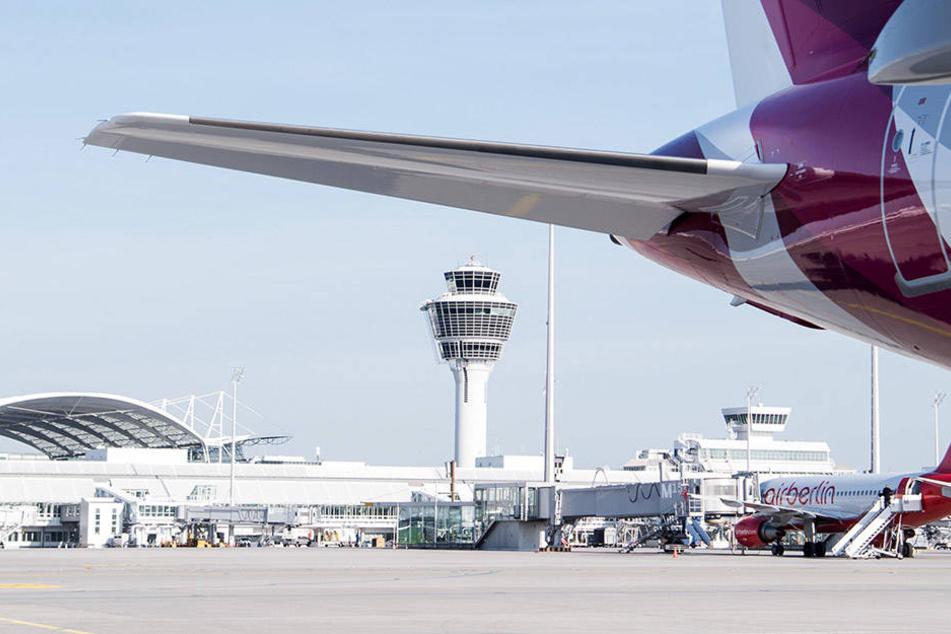 Am Flughafen München endete die Reise bevor sie angefangen hatte.