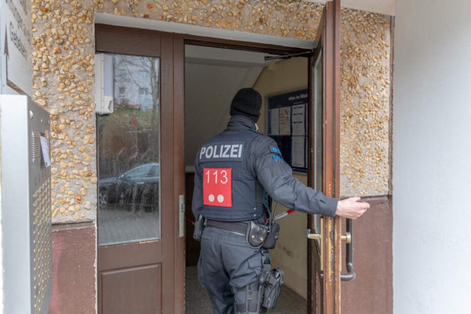 Im Keller diesen Hauses wurde die Leiche der Frau gefunden.