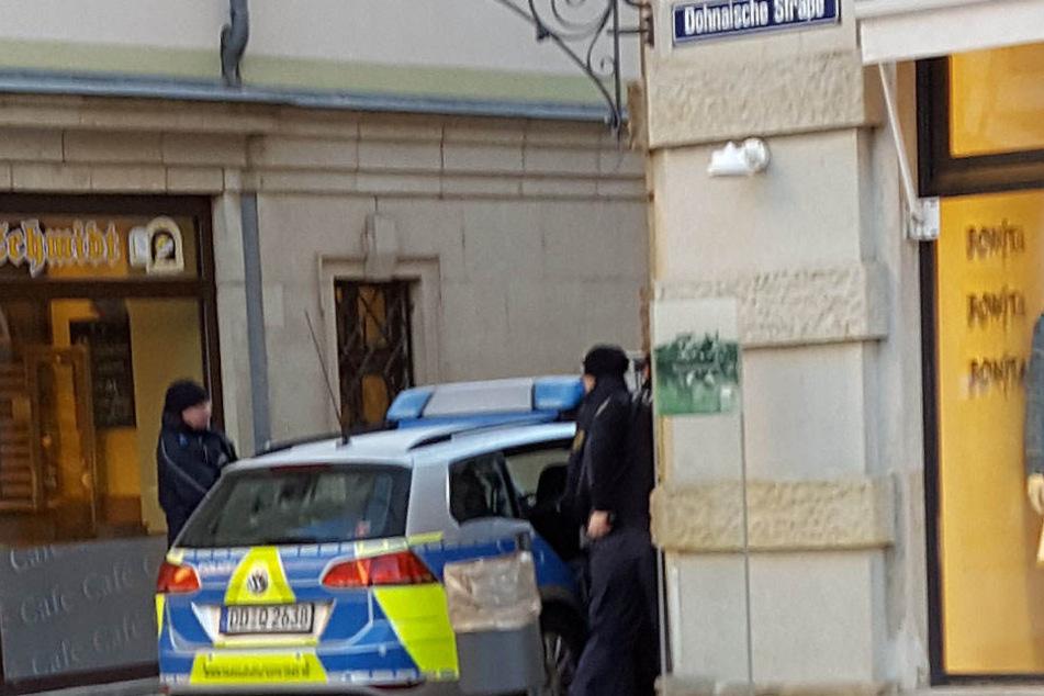 Der Zugriff erfolgte in der Dohnaischen Straße.