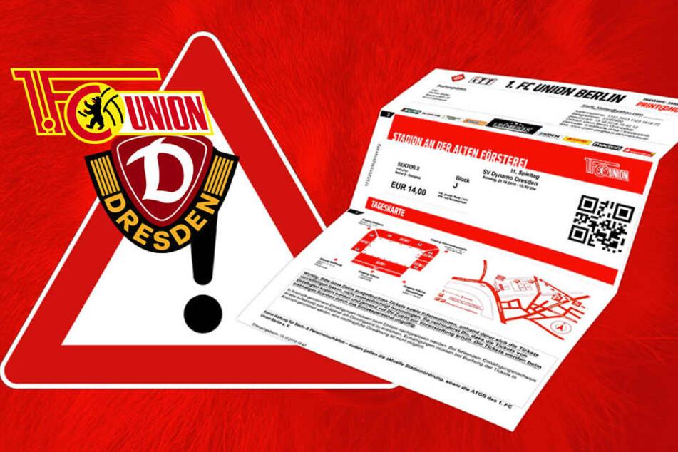 Vor Dresden-Kracher: Union warnt vor gefälschten Tickets!