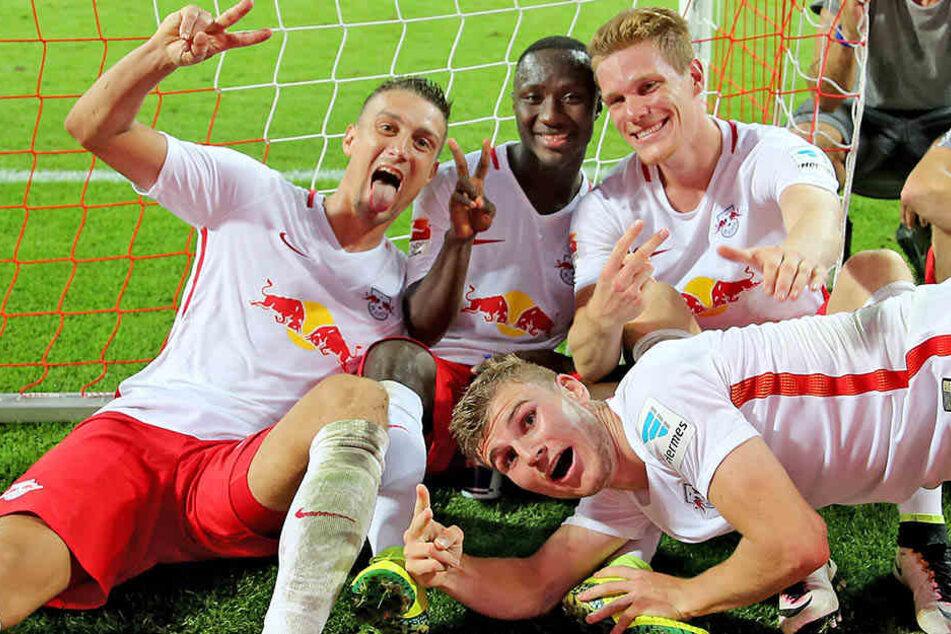 RB Leipzig darf sich in der kommenden Saison nun offiziell mit den größten europäischen Klubs messen.