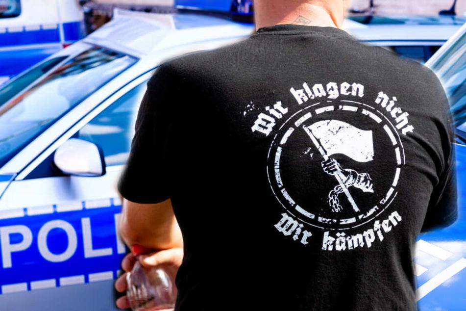 Mehrere mutmaßliche Neonazis sollen in Wurzen das Vereinsgebäude des NDK angegriffen haben. (Symbolbild)