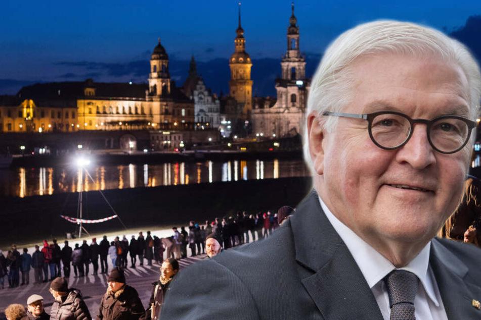 Dresden: Steinmeier zu Gast in Dresden! Was ist der Grund für seinen Besuch?