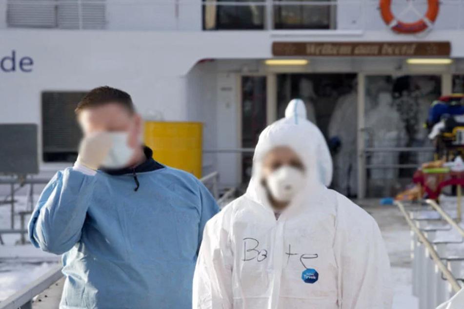 Gefährlicher Virus wütet auf deutschem Kreuzfahrtschiff