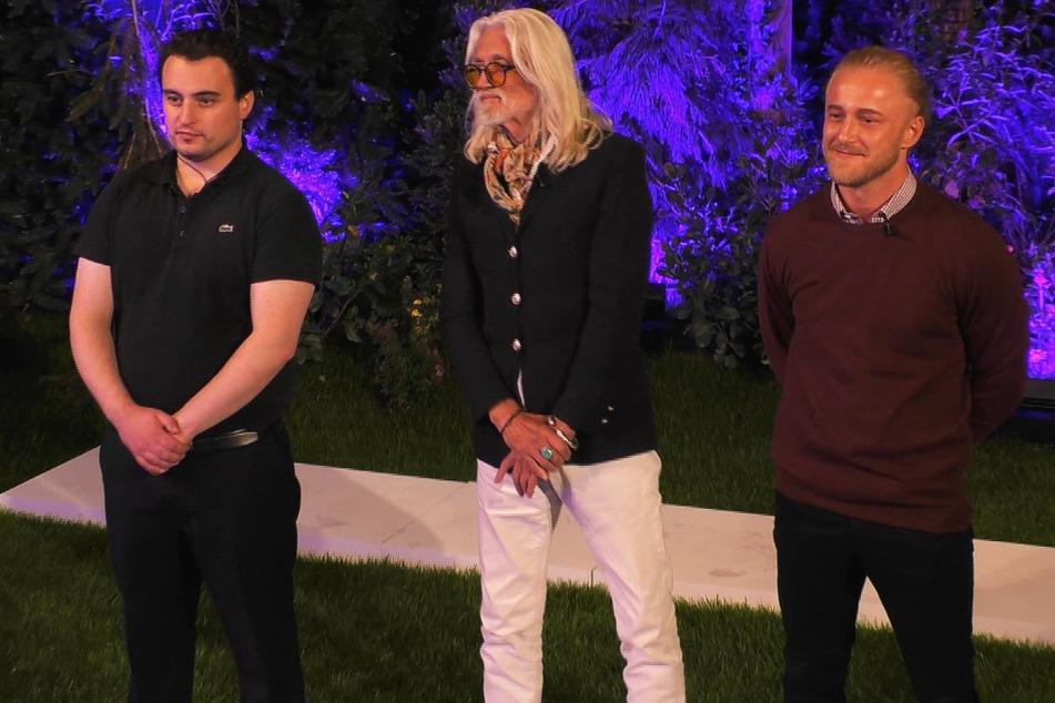 Thomas Mario (35), Gerd (72) und Mario (24) müssen um das Weiterkommen zittern.