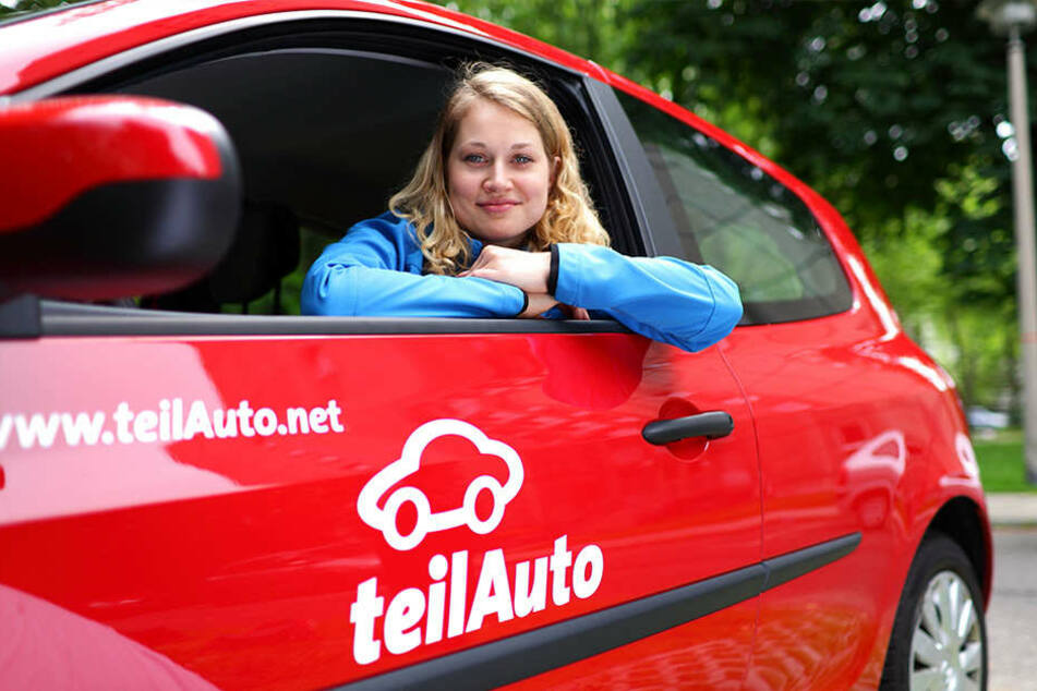 """""""teilAuto"""" ist einer der Partner im Mobilitätskonzept der Stadt."""