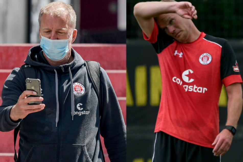 André Trulsen (l) und Markus Gellhaus müssen das Feld räumen.