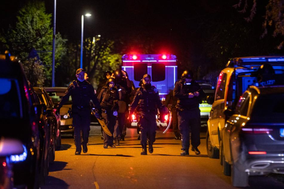 Großer Polizei-Einsatz in Stuttgart-Bad Cannstatt