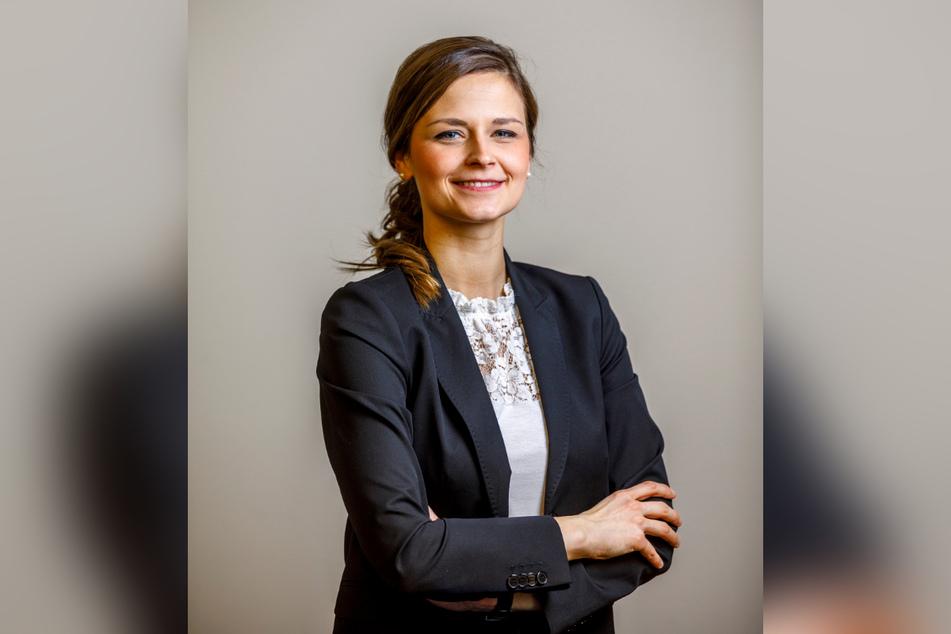 Citymanagerin Friederike Wachtel (31) kämpft um die angeschlagene Innenstadt.