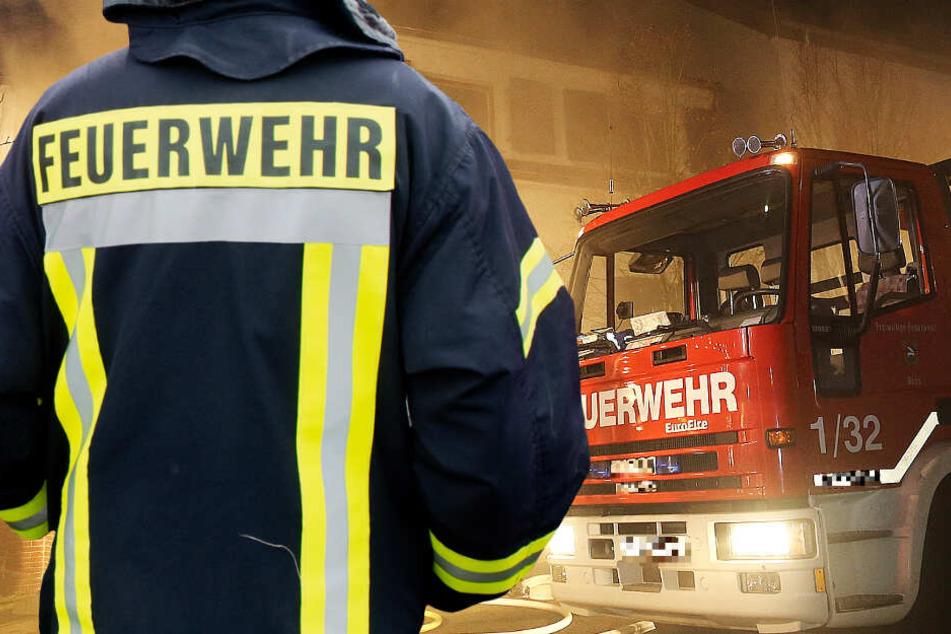 Ein Wohnhausbrand in Mühltal-Traisa beschäftigte am Freitagabend die Feuerwehr (Symbolbild).