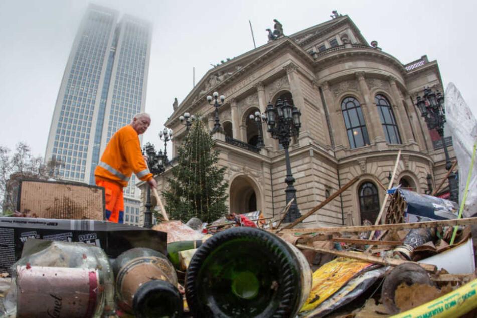 """""""Der Imageschaden für den Müllentsorger FES ist immens"""", so ein Sprecher (Symbolfoto)."""