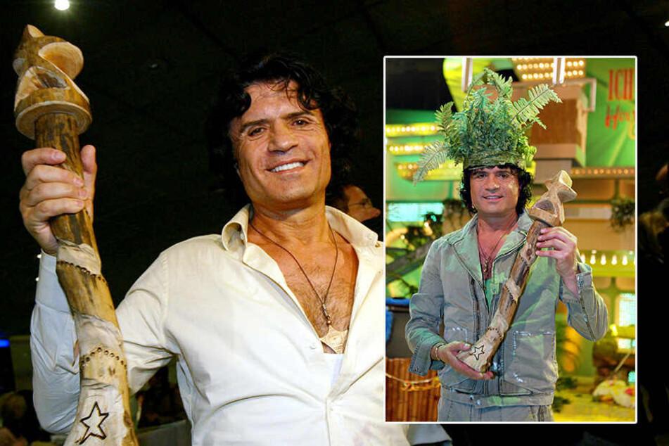 """Januar 2004: Costa Cordalis ist """"Dschungelkönig"""" geworden"""